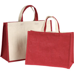 The burlap <em>Bags & pouches</em>