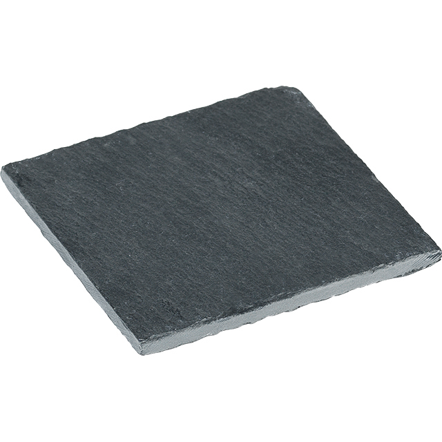 Dessous de verre ardoise carré avec patins